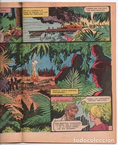 Tebeos: GRANDES VIAJES # 129 NOVARO 1973 20 AÑOS EN LA SELVA EN BUSCA DE SU MARIDO MUY BUEN ESTADO - Foto 2 - 172661254