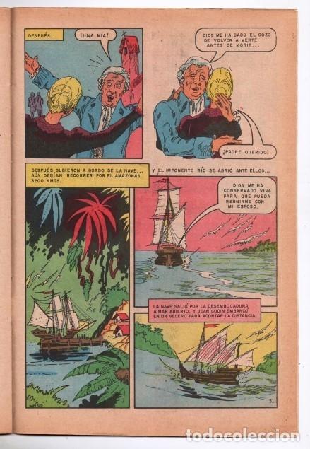 Tebeos: GRANDES VIAJES # 129 NOVARO 1973 20 AÑOS EN LA SELVA EN BUSCA DE SU MARIDO MUY BUEN ESTADO - Foto 3 - 172661254