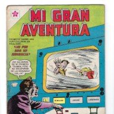 Tebeos: MI GRAN AVENTURA - AÑO IV - Nº 37, 1º DE AGOST. DE 1963 *** NOVARO MÉXICO - EDICIONES RECREATIVAS***. Lote 172757139