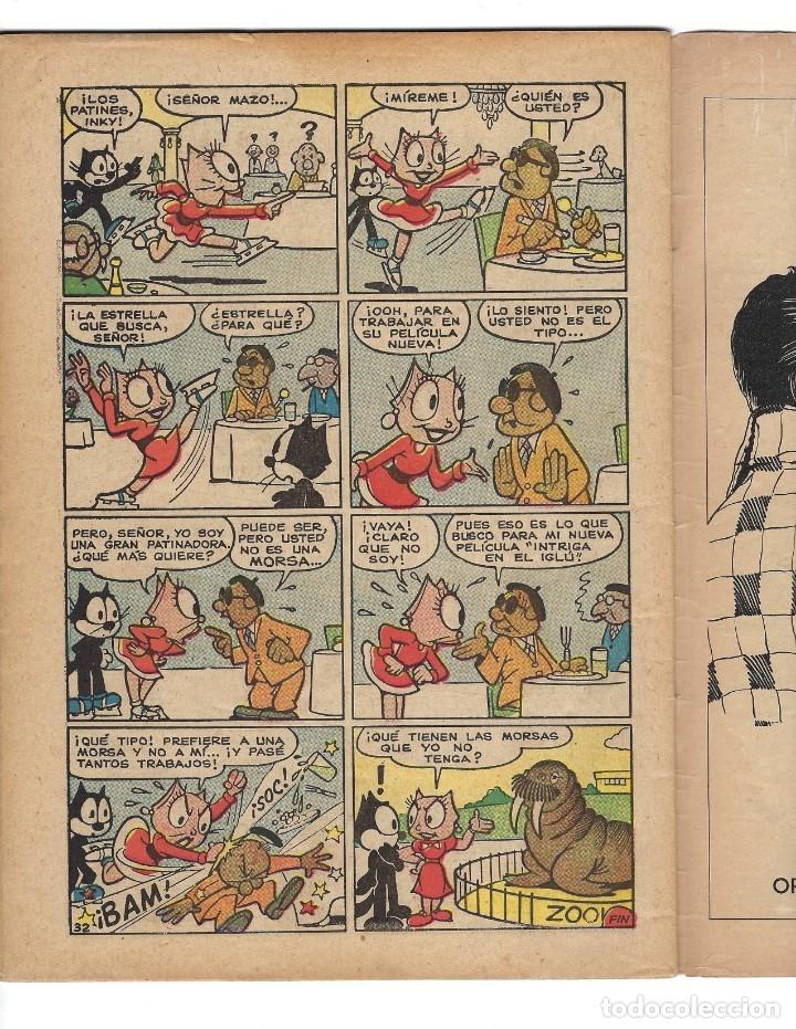 Tebeos: EL GATO FELIX - AÑO VII - Nº 77, 1º DE AGOSTO DE 1959 *** NOVARO MÉXICO - EDICIONES RECREATIVAS*** - Foto 6 - 172760072
