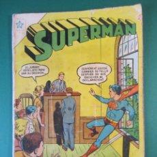 Tebeos: SUPERMAN (1952, ER / NOVARO) 72 · 15-III-1956 · SUPERMÁN. Lote 172799288
