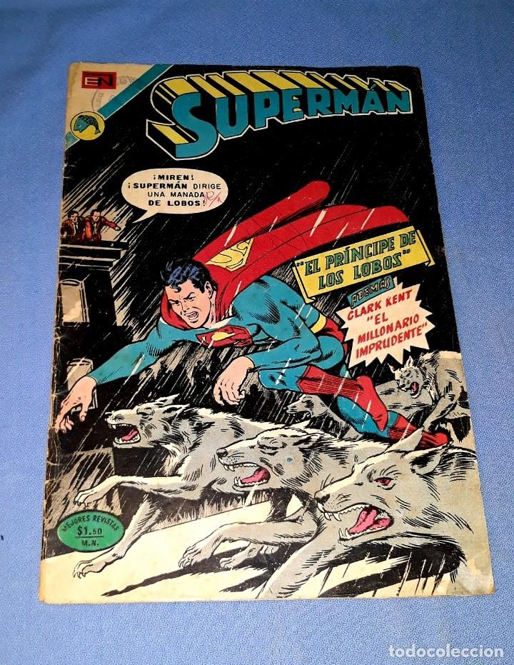 SUPERMAN DE NOVARO Nº 894 ORIGINAL VER FOTO Y DESCRIPCION (Tebeos y Comics - Novaro - Superman)