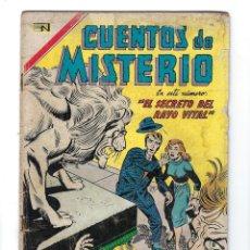 Tebeos: CUENTOS DE MISTERIO - AÑO VII - Nº 120: 15 DE OCTUBRE DE 1967 *** NOVARO MÉXICO ***. Lote 172825733