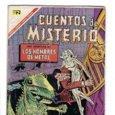 Tebeos: CUENTOS DE MISTERIO - AÑO VII - Nº 113: 1º DE JULIO DE 1967 *** NOVARO MÉXICO ***. Lote 172827314