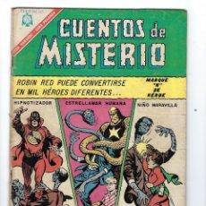 Tebeos: CUENTOS DE MISTERIO - AÑO VI - Nº 95: 1º DE OCTUBRE DE 1966 *** NOVARO MÉXICO ***. Lote 172827583