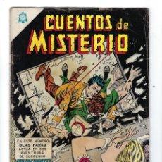 Tebeos: CUENTOS DE MISTERIO - AÑO V - Nº 76: 15 DE DICIEMBRE DE 1965 *** NOVARO MÉXICO ***. Lote 172828123