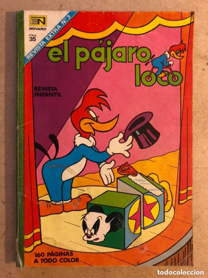EL PÁJARO LOCO EXTRA N° 3 (EDITORIAL NOVARO 1968). 160 PÁGINAS A TODO COLOR. (Tebeos y Comics - Novaro - Otros)