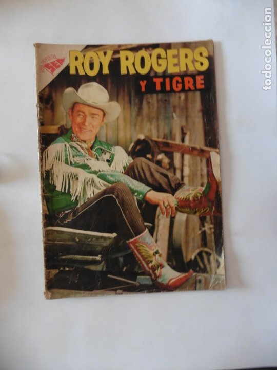 ROY ROGERS Nº 52 NAVARO ORIGINAL (Tebeos y Comics - Novaro - Roy Roger)