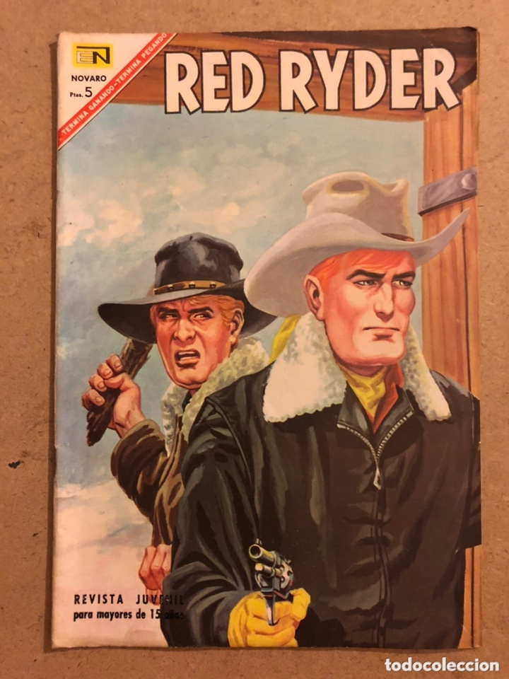 RED RYDER N° 159. EDITORIAL NOVARO 1967. MUY BUEN ESTADO. (Tebeos y Comics - Novaro - Red Ryder)