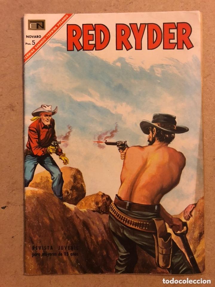 RED RYDER N° 163. EDITORIAL NOVARO 1967. MUY BUEN ESTADO. (Tebeos y Comics - Novaro - Red Ryder)