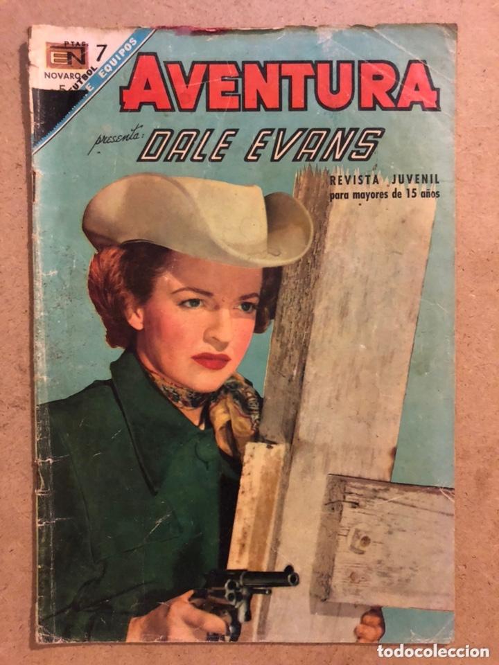 AVENTURA N° 521, DALE EVANS. EDITORIAL NOVARO 1968. REVISTA JUVENIL. (Tebeos y Comics - Novaro - Aventura)