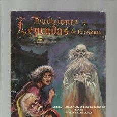 Tebeos: TRADICIONES Y LEYENDAS DE LA COLONIA 34, 1964, EDICIONES LATINOAMERICANAS. COLECCIÓN A.T.. Lote 173195885