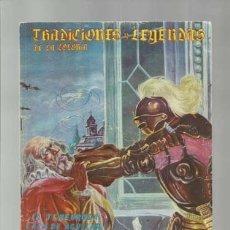 Tebeos: TRADICIONES Y LEYENDAS DE LA COLONIA 48, 1964. EDICIONES LATINOAMERICANAS. COLECCIÓN A.T.. Lote 173196245