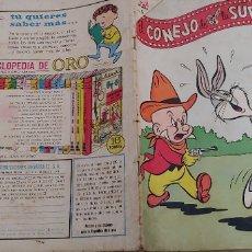 BDs: EL CONEJO DE LA SUERTE Nº 210 1965 NOVARO. Lote 173297853
