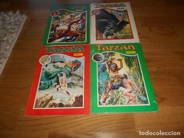 LOTE TARZAN LIBRO COMIC TOMO II X XI XII NOVARO BUEN ESTADO (Tebeos y Comics - Novaro - Tarzán)