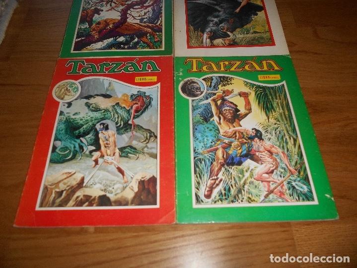 Tebeos: LOTE TARZAN LIBRO COMIC TOMO II X XI XII NOVARO BUEN ESTADO - Foto 3 - 173474942