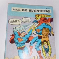 Tebeos: SUPERMAN - LOTE DE 5 TOMOS COMICS NOVARO -DISTRIBUIDORA CONTINENTAL,VENEZUELA- ENVÍO GRATIS POR DHL.. Lote 173660340