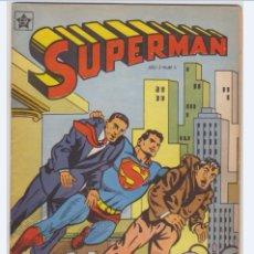 Tebeos: SUPERMAN NUMERO 3 DE LA EDITORIAL NOVARO EN PERFECTO ESTADO.. Lote 173668852