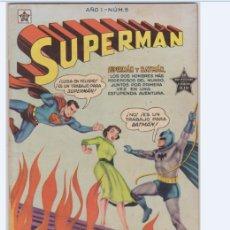 Tebeos: SUPERMAN NUMERO 5 DE LA EDITORIAL NOVARO EN PERFECTO ESTADO.. Lote 173668969