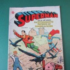 Tebeos: SUPERMAN (1952, ER / NOVARO) 46 · 15-III-1955 · SUPERMÁN. Lote 173671115