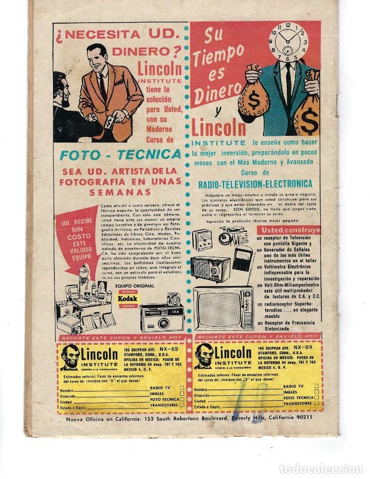 Tebeos: BATMAN - EL HOMBRE MURCIÉLAGO, AÑO XVIII, Nº 565, 7 DE ENERO DE 1971 ***EDITORIAL NOVARO*** - Foto 2 - 173810887