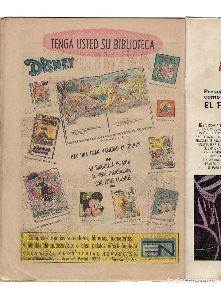 Tebeos: BATMAN - EL HOMBRE MURCIÉLAGO, AÑO XVIII, Nº 565, 7 DE ENERO DE 1971 ***EDITORIAL NOVARO*** - Foto 6 - 173810887