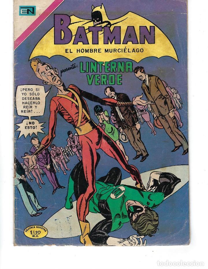 BATMAN - EL HOMBRE MURCIÉLAGO, AÑO XVIII, Nº 565, 7 DE ENERO DE 1971 ***EDITORIAL NOVARO*** (Tebeos y Comics - Novaro - Batman)