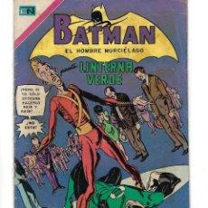 Tebeos: BATMAN - EL HOMBRE MURCIÉLAGO, AÑO XVIII, Nº 565,7 DE ENERO DE 1971 ***EDITORIAL NOVARO***. Lote 173810887