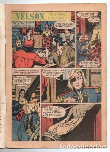 Tebeos: EPOPEYA # 5 NOVARO 1958 NELSON EL HEROE DE TRAFALGAR BUEN ESTADO - Foto 3 - 173884547