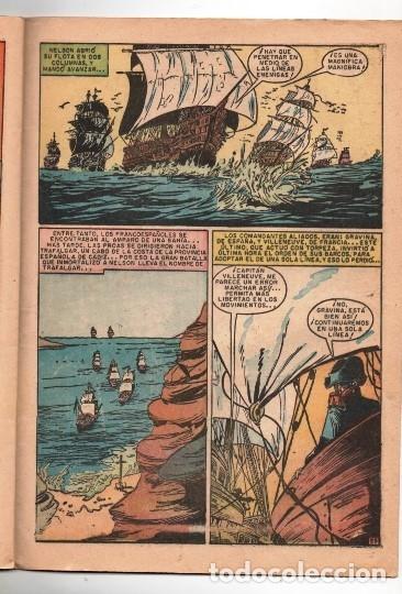 Tebeos: EPOPEYA # 5 NOVARO 1958 NELSON EL HEROE DE TRAFALGAR BUEN ESTADO - Foto 4 - 173884547