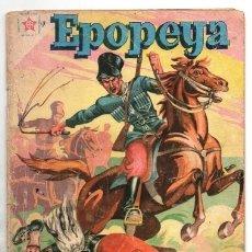 Tebeos: EPOPEYA # 11 NOVARO 1959 EL SITIO DE SEBASTOPOL BUEN ESTADO. Lote 173884550