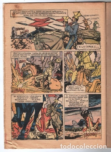 Tebeos: EPOPEYA # 11 NOVARO 1959 EL SITIO DE SEBASTOPOL BUEN ESTADO - Foto 3 - 173884550