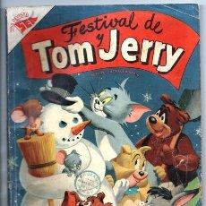 Tebeos: TOM Y JERRY # EXTRAORDINARIO 1954 NOVARO 96 PAG OSO BARNEY JUANITO PROPULSION NARIZOTAS BUEN ESTADO. Lote 173944998