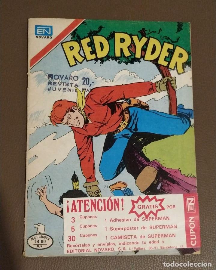 RED RYDER. AÑO XXV, NUMERO 2-451 (Tebeos y Comics - Novaro - Red Ryder)