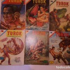 Tebeos: TUROK, NOVARO, LOTE DE 29 CÓMICS - SERIE AGUILA - PUBLICADOS POR EPUCOL COLOMBIA.. Lote 174272200