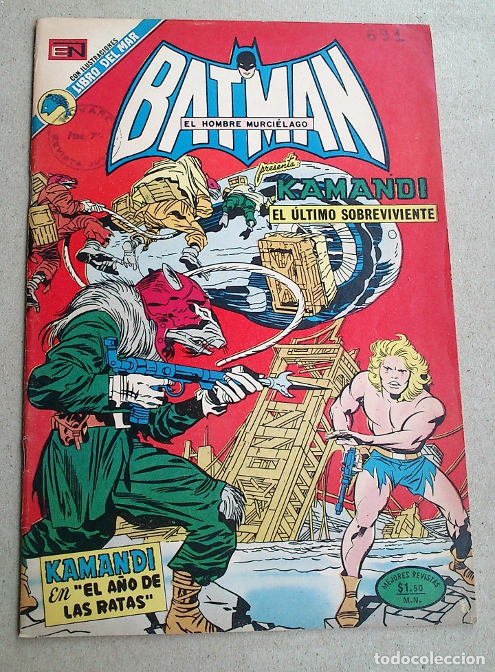 KAMANDI N 691 - NOVARO (Tebeos y Comics - Novaro - Batman)
