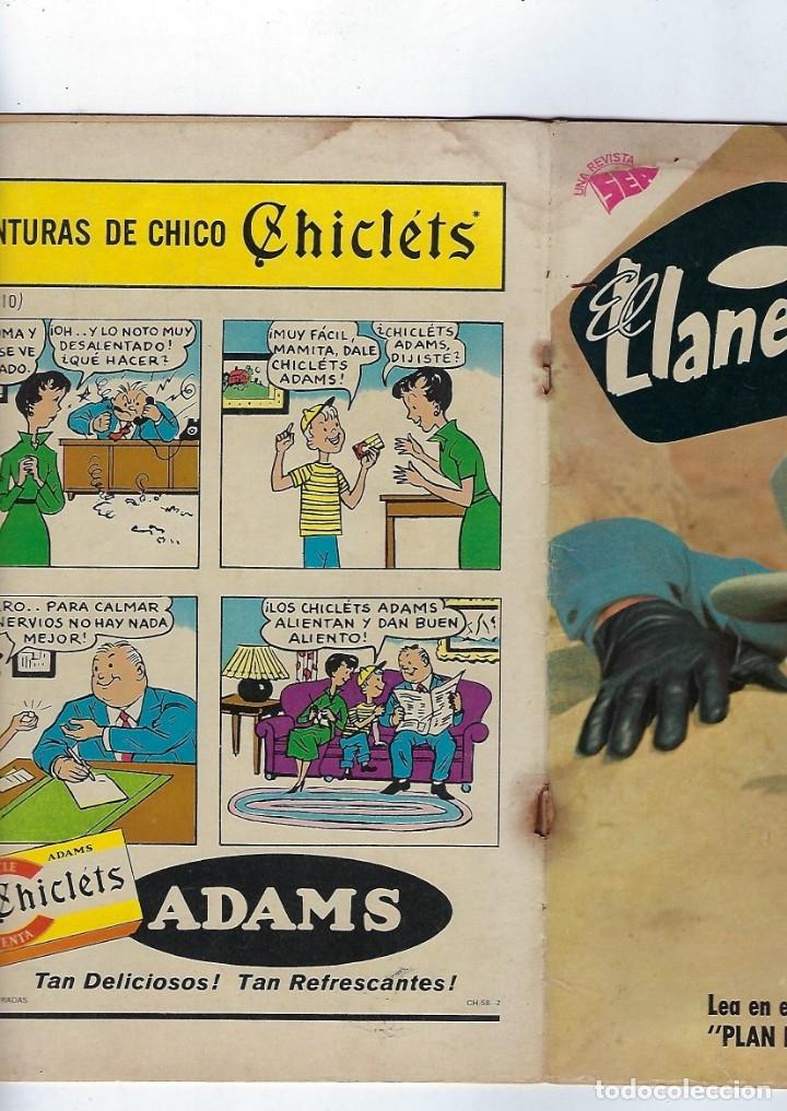 Tebeos: EL LLANERO SOLITARIO: AÑO VI, Nº 75 - 1º DE JUNIO DE 1959 *** EDITORIAL NOVARO - UNA REVISTA SEA *** - Foto 3 - 174383668