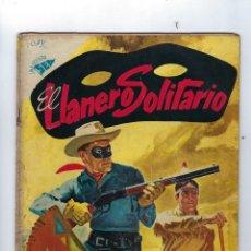 Livros de Banda Desenhada: EL LLANERO SOLITARIO: AÑO IV, Nº 41 - 1º DE AGOST DE 1956 *** EDITORIAL NOVARO - UNA REVISTA SEA ***. Lote 174384622