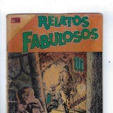 Tebeos: RELATOS FABULOSOS: AÑO VII, Nº 134 - 1º DE SEPTIEMBRE DE 1970 *** EDITORIAL NOVARO ***. Lote 174566335