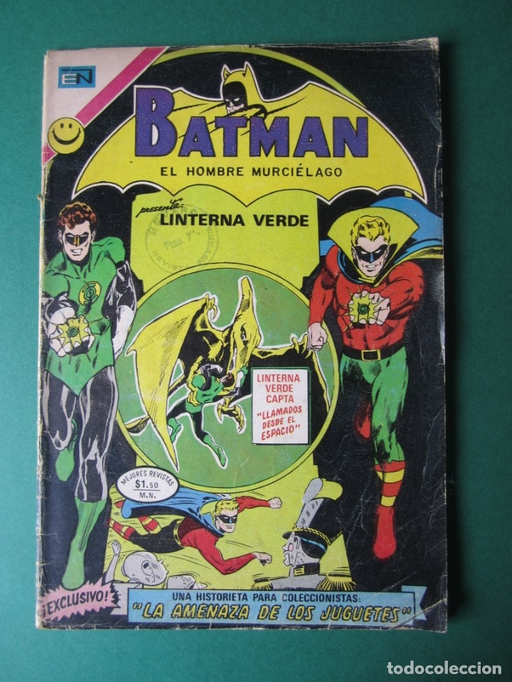 BATMAN (1954, ER / NOVARO) 651 · 12-X-1972 · LLAMADOS DESDE EL ESPACIO (Tebeos y Comics - Novaro - Batman)