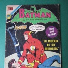 Tebeos: BATMAN (1954, ER / NOVARO) 658 · 30-XI-1972 · LA MUERTE DE UN INMORTAL. Lote 174595034