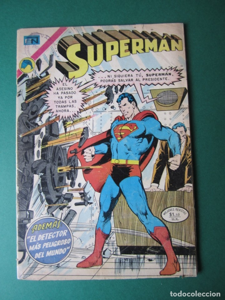 SUPERMAN (1952, ER / NOVARO) 896 · 14-V-1973 · SUPERMÁN (Tebeos y Comics - Novaro - Superman)