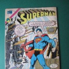 Tebeos: SUPERMAN (1952, ER / NOVARO) 896 · 14-V-1973 · SUPERMÁN. Lote 174604498