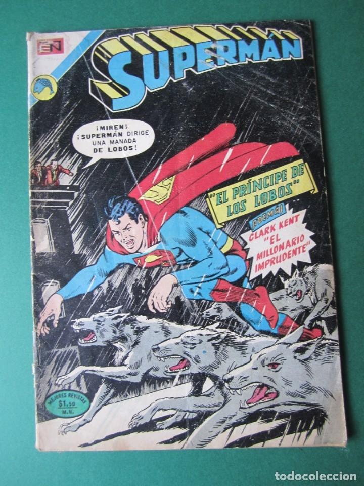 SUPERMAN (1952, ER / NOVARO) 894 · 30-IV-1973 · SUPERMÁN (Tebeos y Comics - Novaro - Superman)