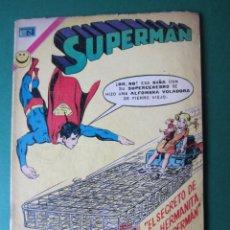 Tebeos: SUPERMAN (1952, ER / NOVARO) 884 · 19-II-1973 · SUPERMÁN. Lote 174607188