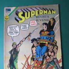 Tebeos: SUPERMAN (1952, ER / NOVARO) 881 · 29-I-1973 · SUPERMÁN. Lote 174640650