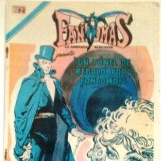 Tebeos: COLECCIONABLE COMIC FANTOMAS N° 168 - 7 DE JULIO 1974 EDITORIAL NOVARO. Lote 174686400