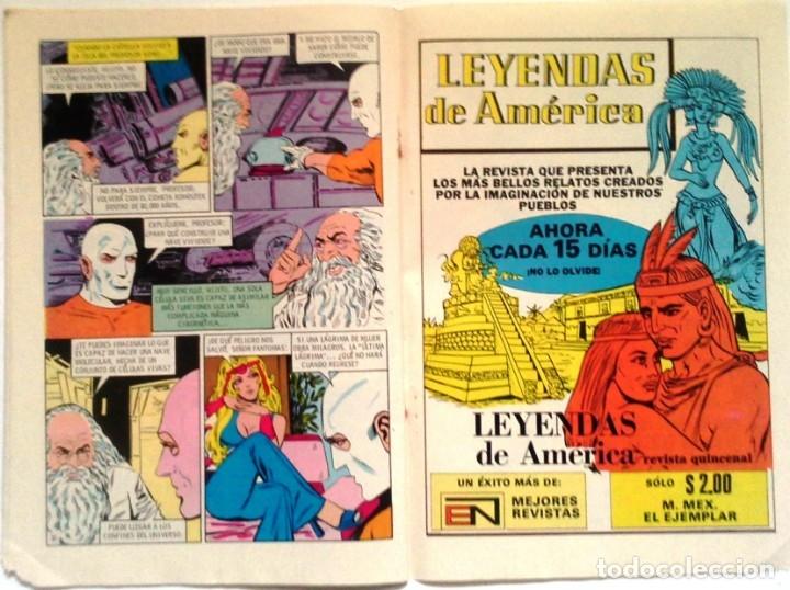 Tebeos: Coleccionable Comic N° 175 - 25 De Agosto 1974 Editorial Novaro - Foto 6 - 174693733
