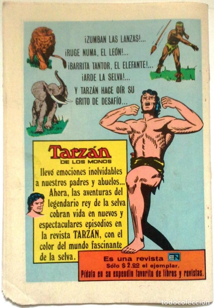 Tebeos: Coleccionable Comic N° 175 - 25 De Agosto 1974 Editorial Novaro - Foto 7 - 174693733