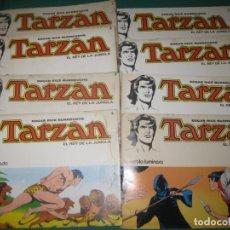 Tebeos: TARZAN EL REY DE LA JUNGLA. 1-8 COMPLETA. EDITORIAL NOVARO 1976.. Lote 175402782